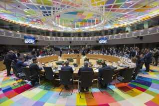 EU's 27 stats- og regeringsledere var i dag samlet for at diskutere skilsmissen med EU-land nummer 28, Storbritannien.