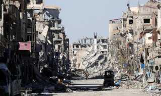 Op mod 80 procent af Raqqa er efter sigende ødelagt.
