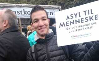 Amer Brio har snart boet i Danmark i to år.