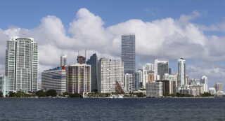 Miamis skyline. Foto: MIAMI TRAFFIC/ REUTERS/Joe Skipper