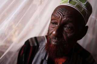 64-årige Abdi Subane er en af lejrens indflydelsesrige ældre.