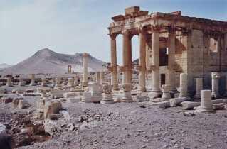 Det 1900 år gamle tempel Baalshamin er sprunget i luften og står nu i ruiner.