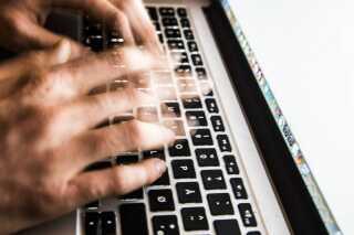 PET overvåger internettet efter et terrorangreb. Arkivfoto.