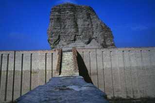 Ziggurat målte 60 gange 60 meter ved fundamentet og havde et tårn, der stak 60 meter op i luften.