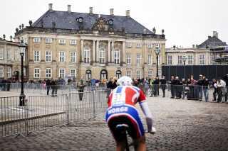 Ruten i København går forbi Amalienborg. Arkivfoto.
