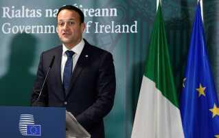 Irlands premierminister Leo Varadkar. (Arkivfoto: REuters/Piroschka Van De Wouw)