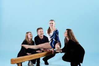 I familien Skammelsen har mange beslutninger kredset om Maries gymnastikkarriere.