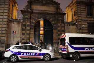 Politiet nåede ikke frem til at fange demonstranterne.