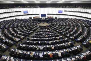 Europa-parlamentet i Strasbourg.