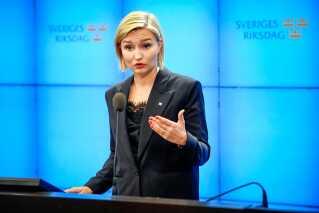 Ebba Busch Thor lagde ikke skjul på, at hun anser den borgerlige bloks Allianse for at være slut.