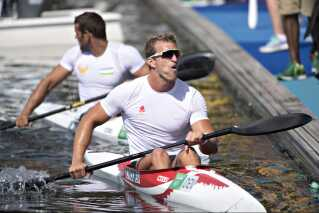 René Holten Poulsen her efter sin skuffende sjetteplads ved OL.