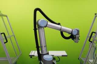 Fynske Universal Robots, der laver robotarme, har nu afdelinger flere steder i verden.