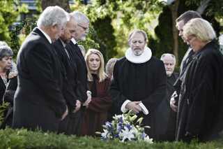 Lars Mikkelsen som Johannes i 'Herrens Veje', som Adam Price er hovedforfatter på.