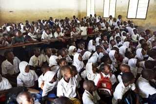Lysten til at lære og gå i skole er øget, oplever lederen af Børnenes U-landskalender-projektet i Tanzania. Foto: Jens Honoré.