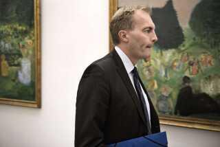 Gruppeformand for Dansk Folkeparti Peter Skaarup (DF) kan se lidt af sin egen tilgang til politik hos Pernille Skipper.