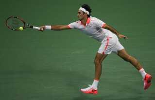 Roger Federer er i finalen i US Open, hvor han møder Novak Djokovic.
