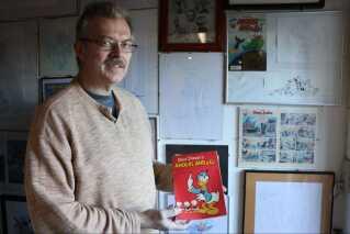 Steffen Gerdes har i 30 år samlet på blandt andet Anders And-merchandise.