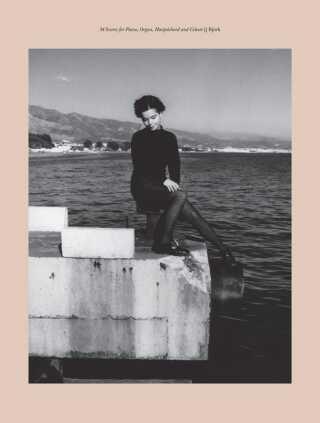 Forsiden til Björks nodehæfte, der er ude 5. juni. Måske indeholder det endda skrifttyper for noderne, der passer til de enkelte sange?