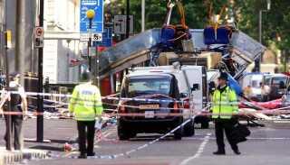 Terrorangrebet i London i 2005 var blandt andet rettet mod en dobbeltdækkerbus.