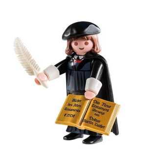 Den lille Luther-figur var i første omgang målrettet det tyske marked, men er i senere oplag også nået uden for Tyskland - og kan også købes i Danmark.