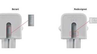 I marts tilbagekaldte Apple visse typer af USB-opladere. Artiklen, der fastslog hvilke opladerer, der var tale om, var populær.
