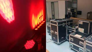 46 mand arbejder med lysproduktionen til Eurovision.