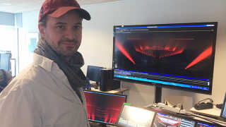 Kasper Lange har bl.a. designet lys til shows som X Factor, Dansk Melodi Grand Prix, DMA og P3 Guld.