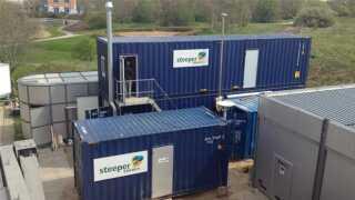 Det ser måske ikke ud af så meget, men containerne på Aalborg Universitet indeholder et bioolie-anlæg, der lover godt for fremtidens biobrændstof.