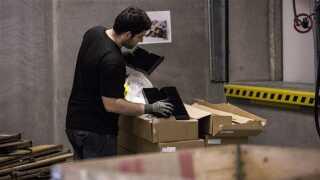 IKEA- reoler til det 8.511 m2 store lager i det nye varehus i Aarhus. Reolerne fyldte 45 lastbiler.