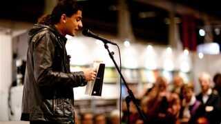 Yahya Hassan læser op sidste aften på BogForum