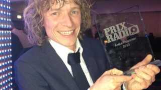 Årets reporter Thomas Schmidt Nørgaard fra P4 Østjylland.