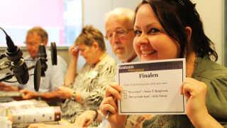 Juryen er nået til det afgørende øjeblik - vinderen af DR Romanprisen 2012 skulle findes.