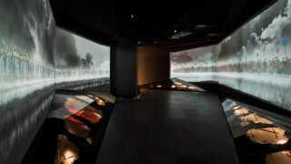 Museet har forsøgt at skabe udstilling for sanserne.