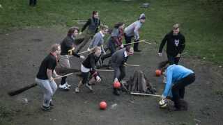 De studerende på 'The College of Wizardry' havde også mulighed for at kaste sig over quidditch.