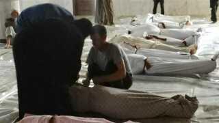Gasangrebet udenfor Damaskus kan være det dødeligste siden 1980'erne, mener eksperter.