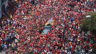 Hugo Chavez, død, Venezuela sørger