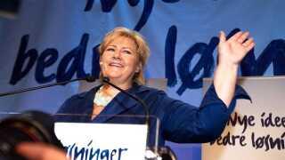 Solbergs Høyre lover nordmændene mere valgfrihed inden for ældrepleje, lige som færre skal betale topskat.