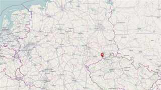 Gerningsstedet er i en tysk by tæt på grænsen til Tjekkiet.