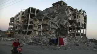 Ødelæggelserne i Gaza er enorme.