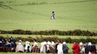 Flere end 6.000 deltog i genopsætningen af Slaget ved Waterloo.