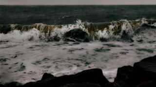For mange er vinden anledning til at få en god og rask tur hen over bølgerne.