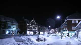 Bornholm sneede inde i julen 2010. Vejene var ufremkommelige i en længere periode.
