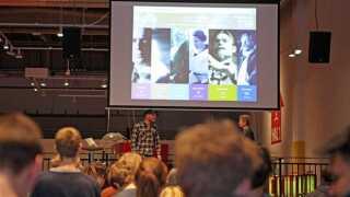 Onsdag var der verdenspremiere på afsnittet om fysiologen August Krogh på Experimentarium City i København.