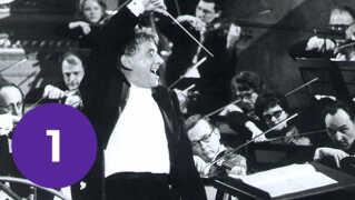'West Side Story's komponist Lenny Bernstein.