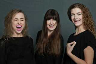 De tre stiftere af Hun Solo er fra venstre Nana Jacobi, Anya Mathilde Poulsen og Kirstine Stubbe Teglbjærg