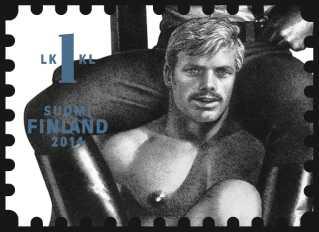 Et af de tre motiver der fra september kan ses på finske frimærker