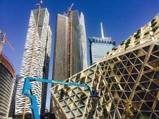 Riyadhs nye, danskdesignede finanscentrum.