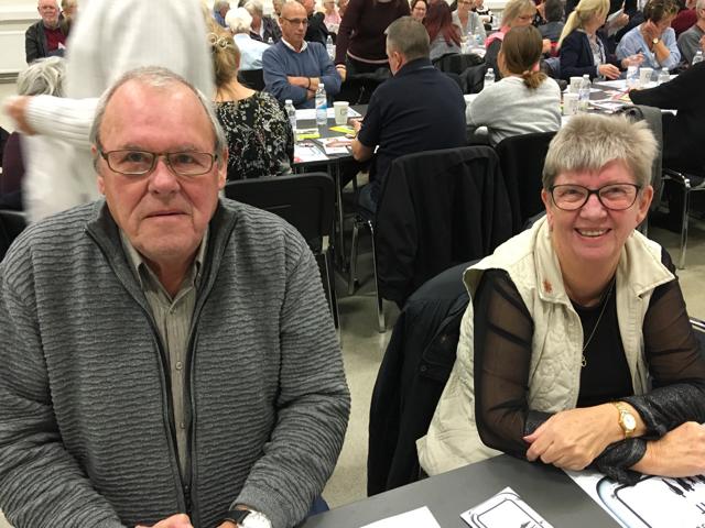 Niels Ole og Birgit Pedersen til banko og vælgermøde i Odense.