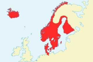 Kalmarunionen havde sit magtcentrum i Danmark, men alle rigerne blev regeret efter deres egne love. Unionen bestod af de tre kongeriger Danmark, Norge og Sverige. Til Sverige hørte også Finland og til Norge hørte Island, Grønland, Færøerne, Orkneyøerne og Shetlandsøerne, så unionen omfattede hele Norden. (© wikimedia)
