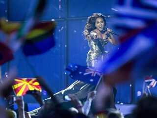 Australske Jessica Mauboy optrådte i Eurovision i København. Nu kommer landet officielt med i konkurrencen.